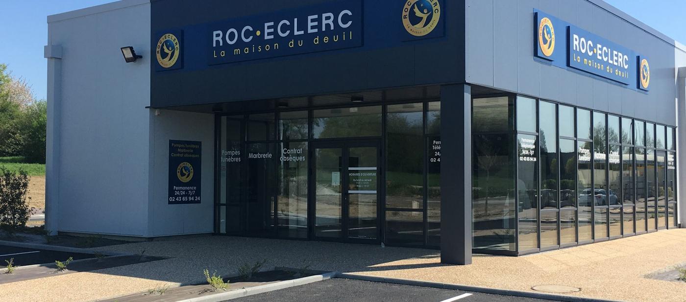 Groupe ROC ECLERC agence Arras complexe funéraire