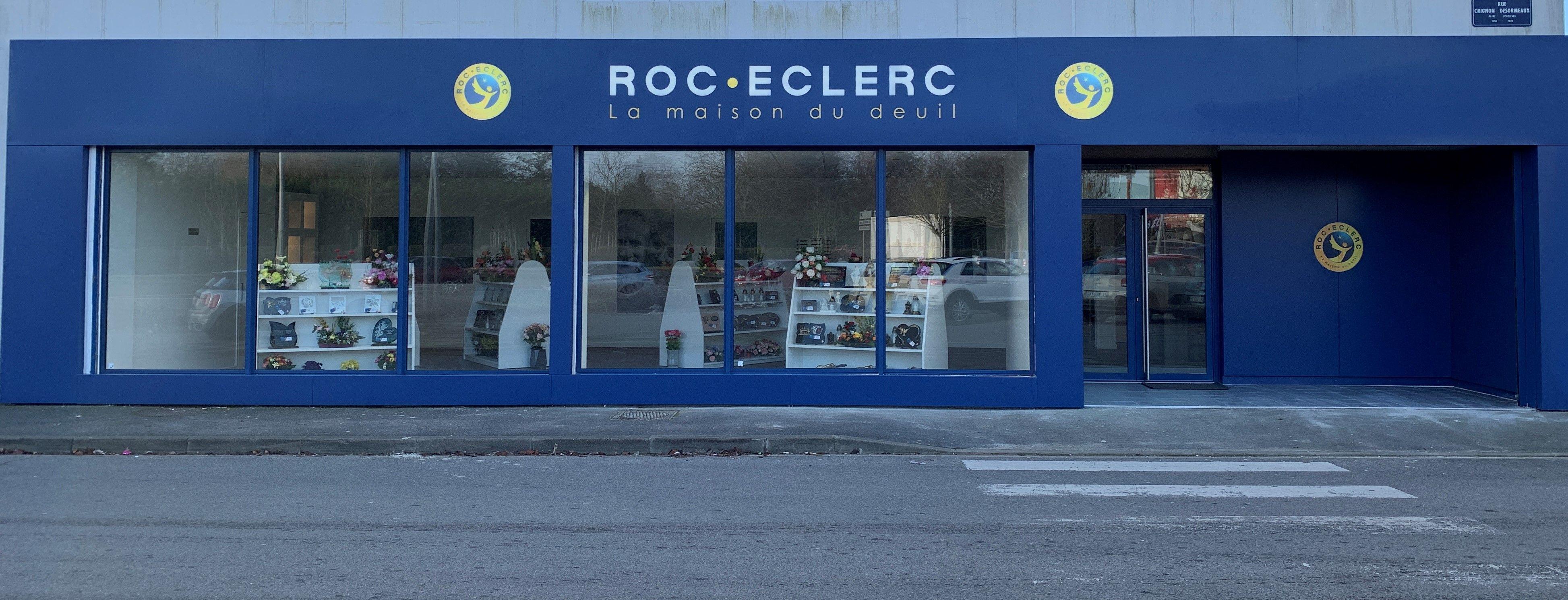 agence ROC ECLERC Orléans façade