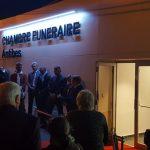 Lire la suite de Inauguration de la chambre funéraire d'Antibes